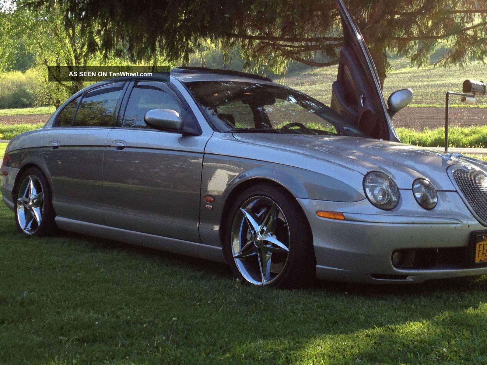 2003 jaguar s type r sedan 4 door 4 2l custom. Black Bedroom Furniture Sets. Home Design Ideas