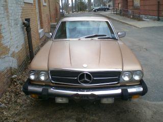 1979 Mercedes Benz 450 Slc photo