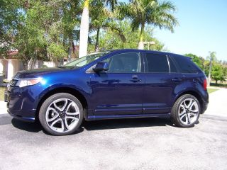 2011 Ford Edge Sport All Wheel Drive Awd Pano Roof Remote Start 26k M photo