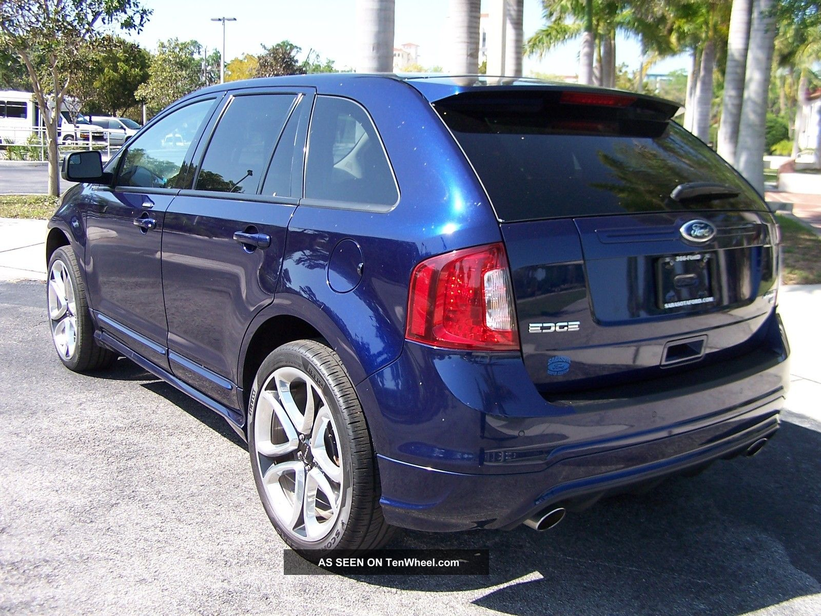 2011 Ford Edge Sport All Wheel Drive Awd Pano Roof Remote
