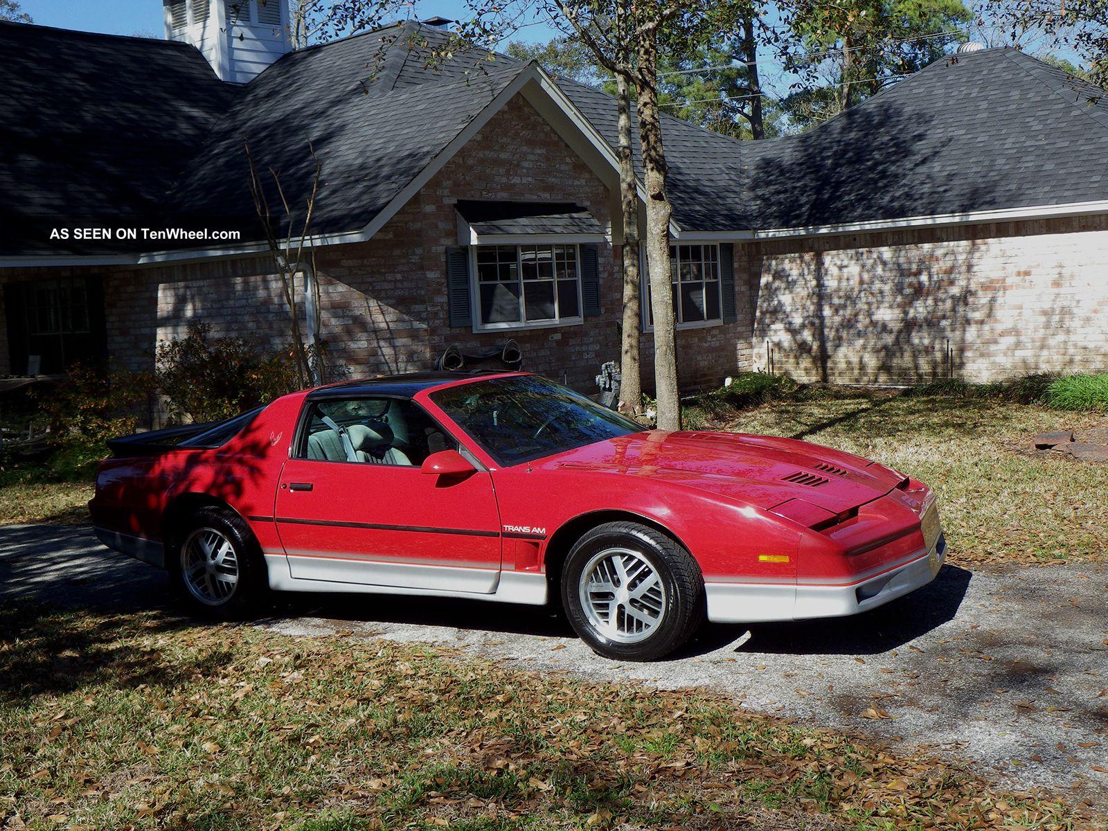 1985 Pontiac Firebird Trans Am Related Infomation