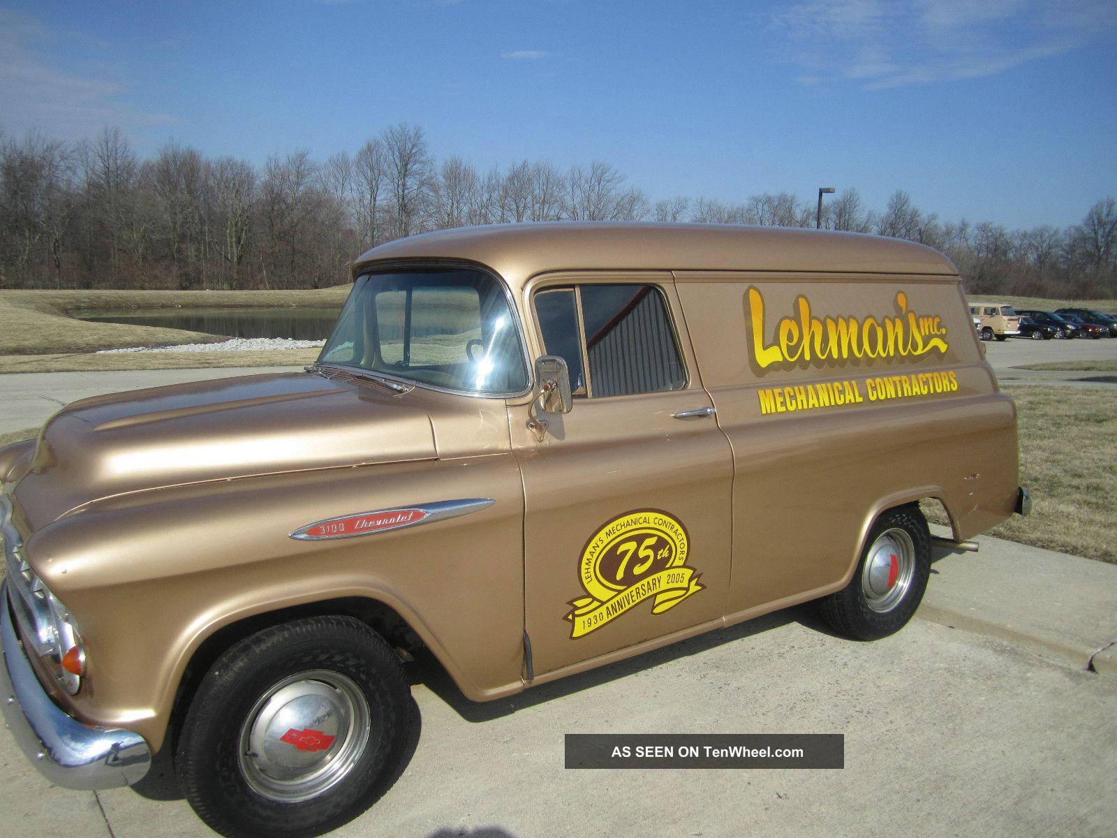 1957 Chevrolet Panel Delivery 3100 Chevy Van Other Pickups Photo 10