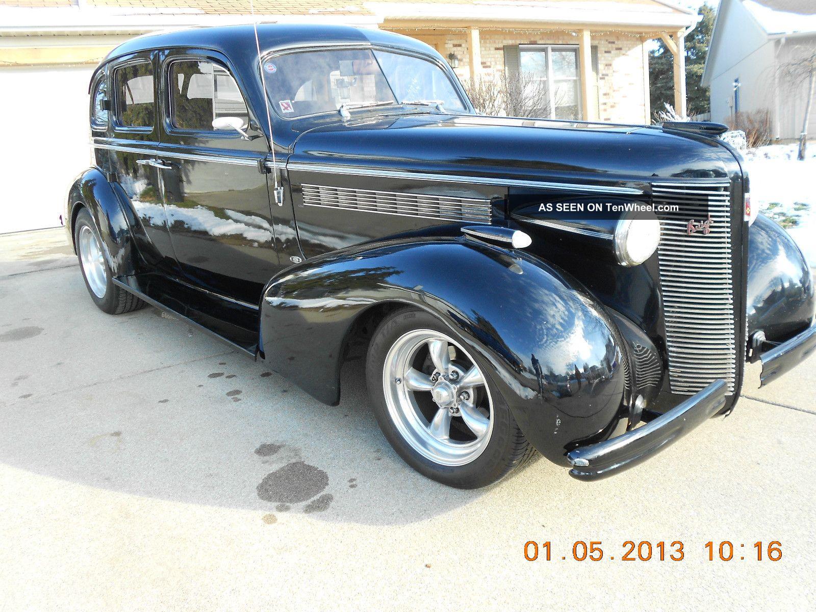 1937 buick special 4 door sedan black modified for 1937 buick special 2 door