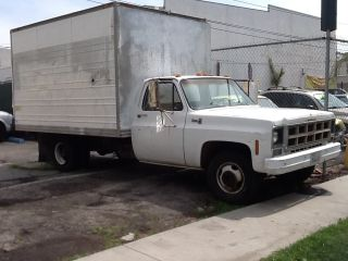 1977 Gmc 1 Ton 10 ' Box Truck With Waltco Power Lift Gate photo