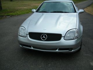2000 Mercedes - Benz Slk230 Kompressor Convertible 2 - Door 2.  3l photo