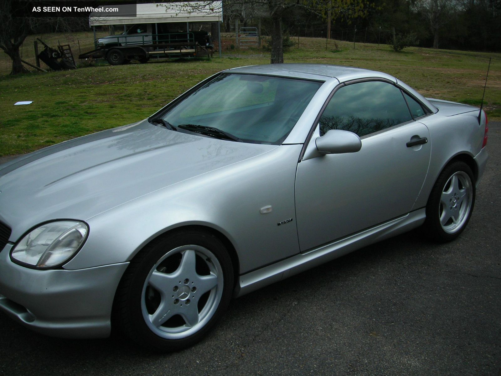 2000 mercedes benz slk230 kompressor convertible 2