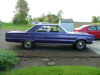 Plum Crazy 1967 Gtx Clone. photo