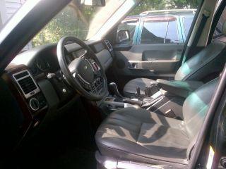 2003 Range Rover Hse Black photo