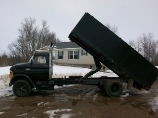 1966 Ford 700,  Dump Truck With A Cummins 5.  9 Diesel Engine photo
