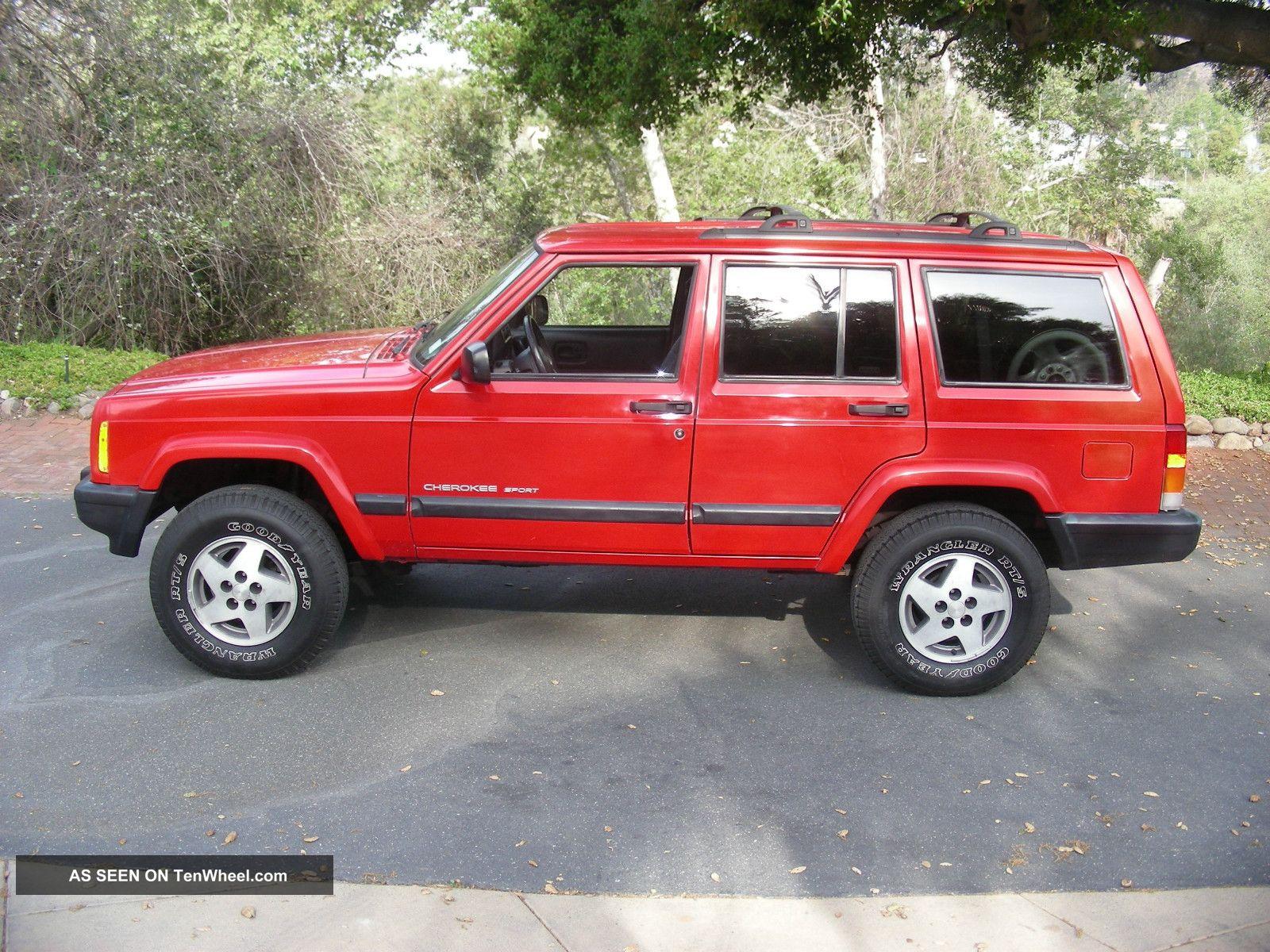 1999 Jeep Cherokee Sport Sport Utility 4 - Door 4.  0l Cherokee photo