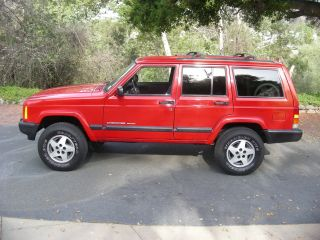 1999 Jeep Cherokee Sport Sport Utility 4 - Door 4.  0l photo