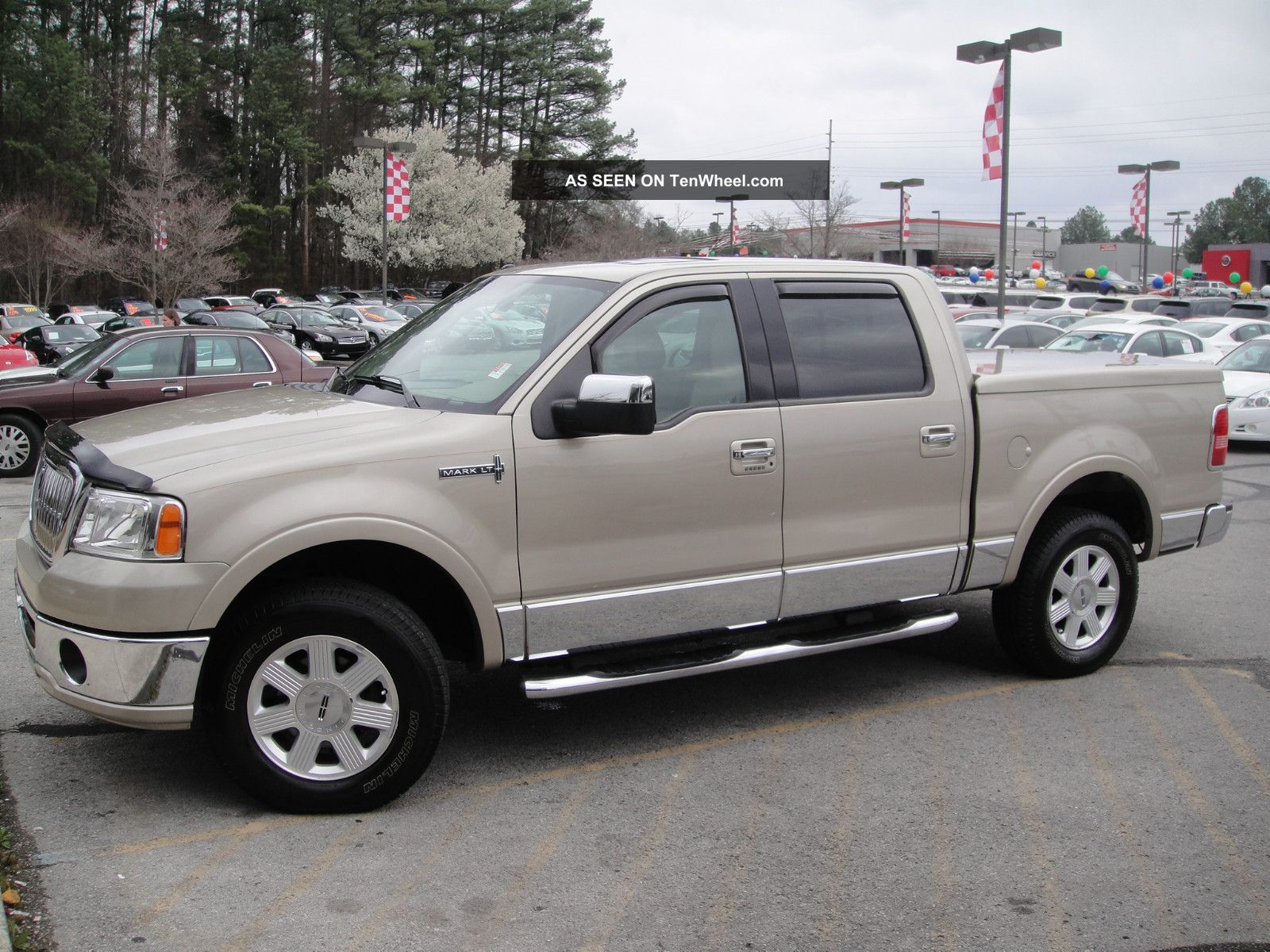 2008 Lincoln Mark Lt 4wd Crew Cab Pickup 4 - Door 5.  4l 2nd Owner Local Trade In Mark Series photo