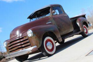 1952 Chevrolet 3100 Rat Rod,  5 Window Truck,  Patina, photo