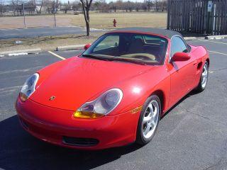 1999 Porsche Boxster Base Convertible 2 - Door 2.  5l photo