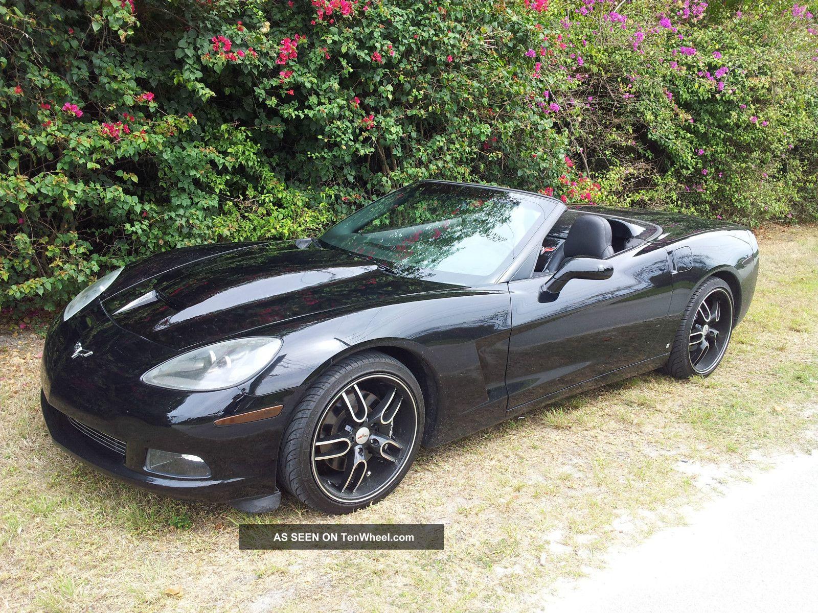 2008 Chevrolet Corvette Convertible 6.  2l - Triple Black Corvette photo