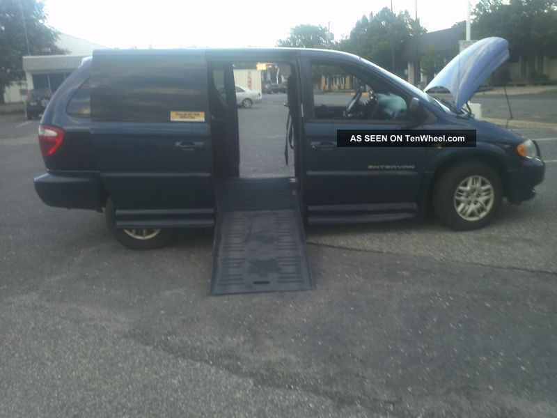 2002 Dodge Paraplegic Quadraplegic Handicap Steering,  Gas & Brake Controls Grand Caravan photo