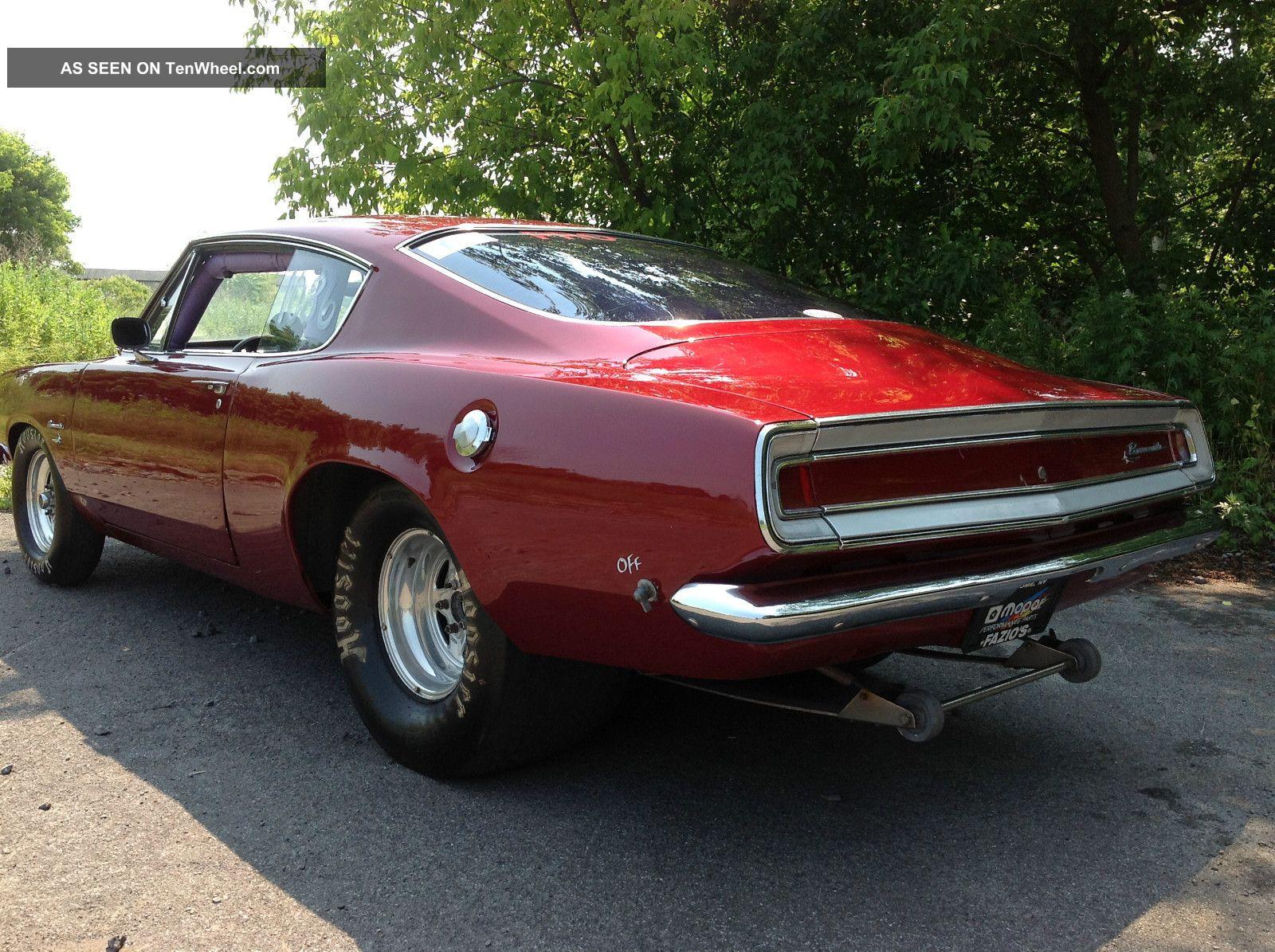 1968 Plymouth Barracuda Fast Back