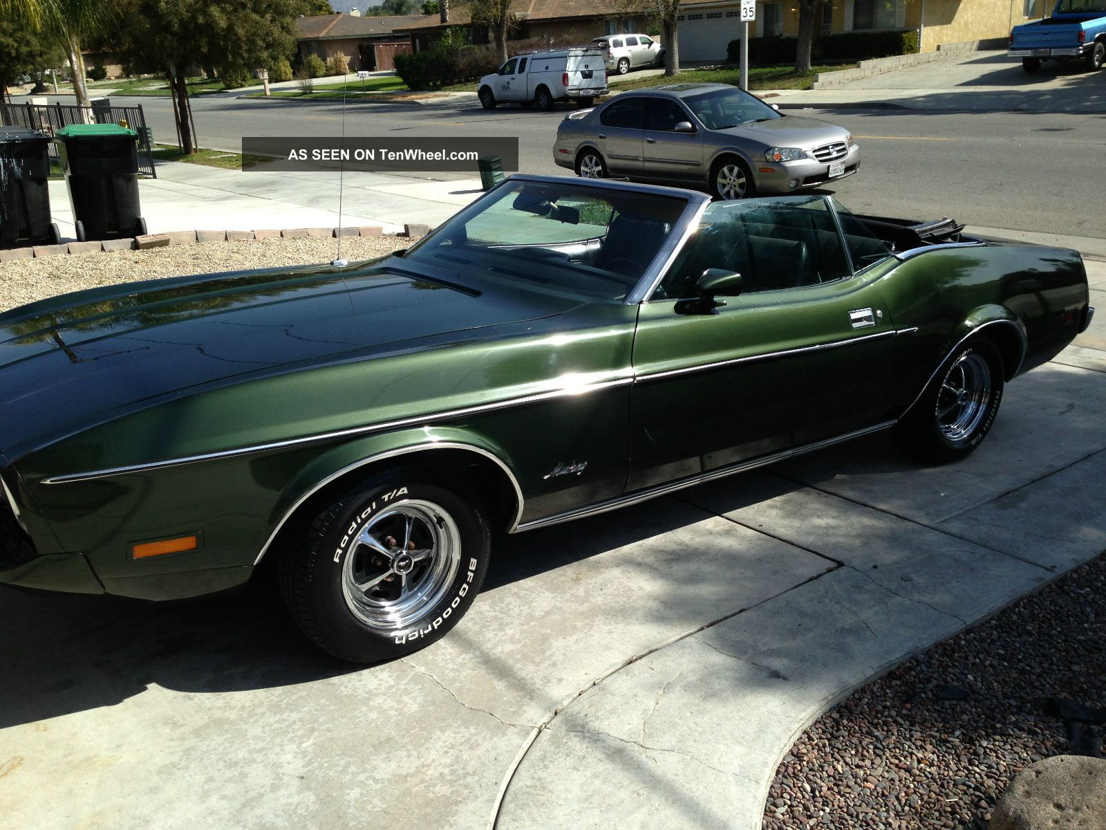 1973 Ford Mustang Convertible All Records