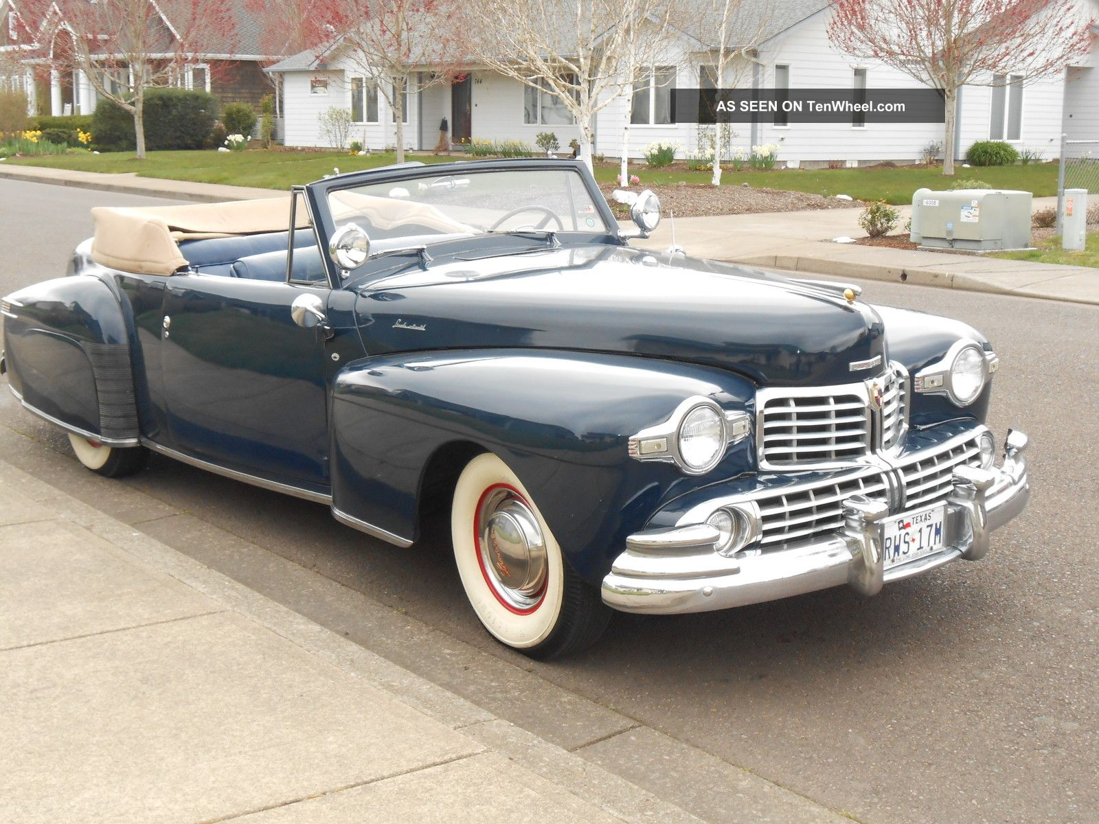 1948 Lincoln Continental Convertible Older Restoration