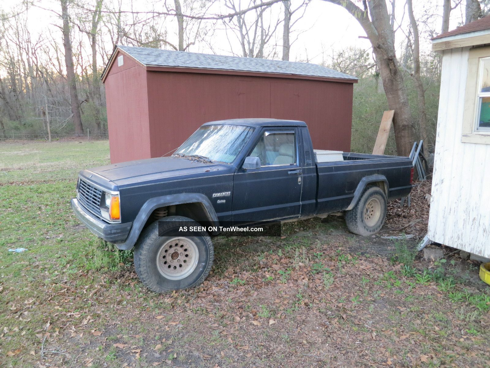 1986 Jeep Comanche 2.  5l 4x4 Long Bed Comanche photo