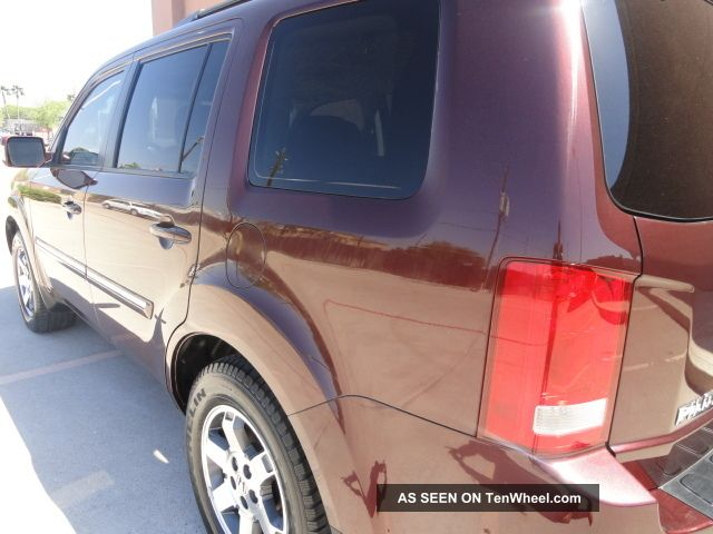 2009 Honda Pilot Touring 4wd With & Dvd Very