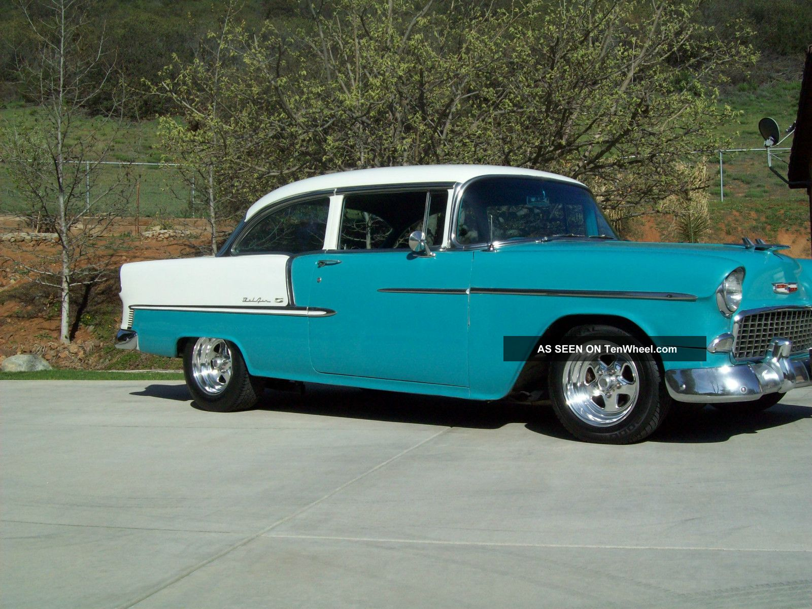 1955 Chevy Belair. - Street Rod - Hot Rod - Race Car - Offers?