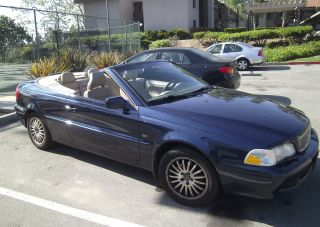 2002 Volvo C70 Convertable With 5 Speed Manual Transmission photo