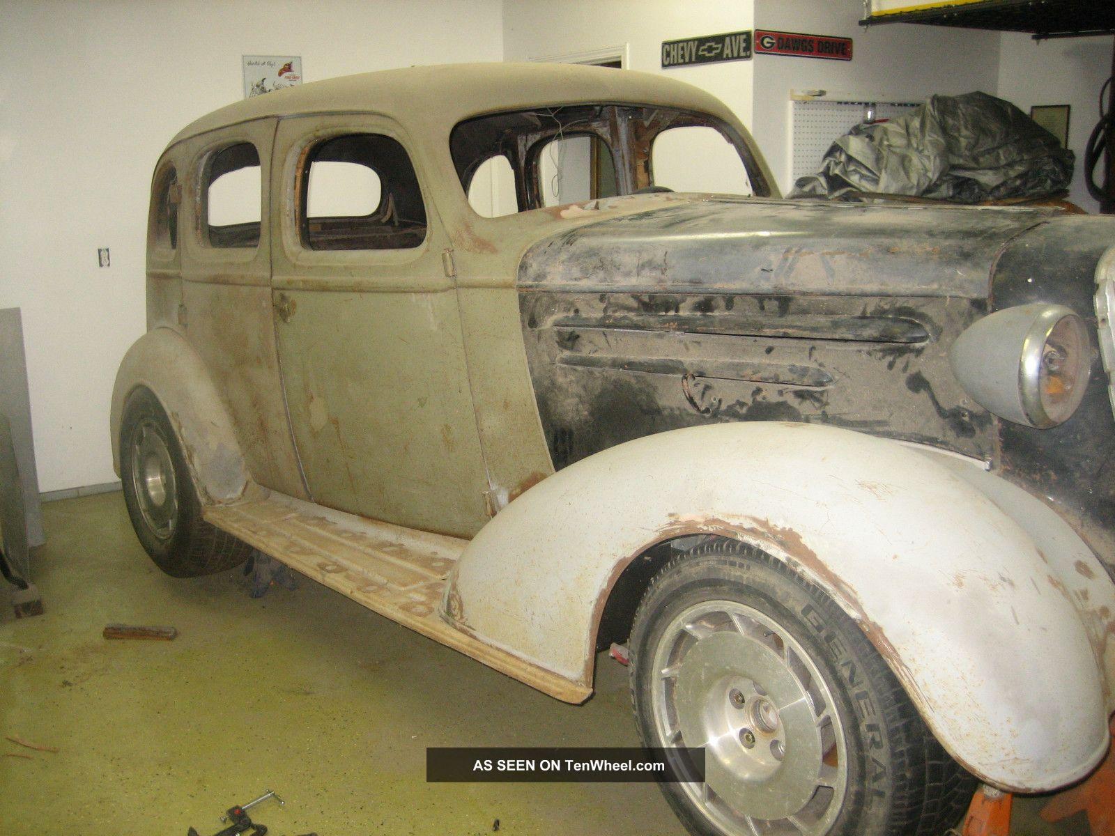 Street rod unfinished 1936 chevrolet 4 door sedan for 1936 chevy 4 door sedan