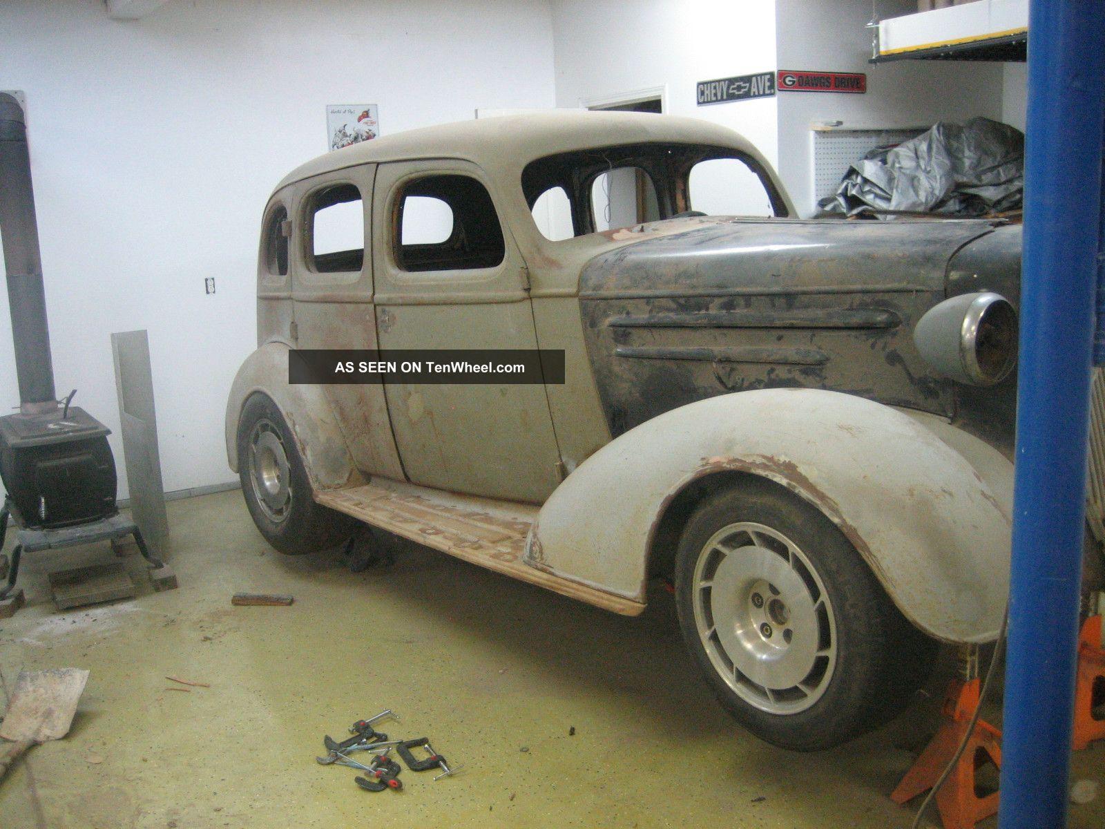 Street rod unfinished 1936 chevrolet 4 door sedan for 1936 chevy sedan 4 door