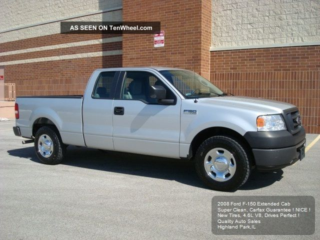 2008 ford f 150 f150 extended cab 4 6l auto a c was 25190. Cars Review. Best American Auto & Cars Review