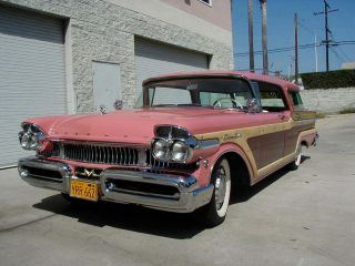1957 Ford / Mercury Colony Park Station Wagon, ,  Rare photo