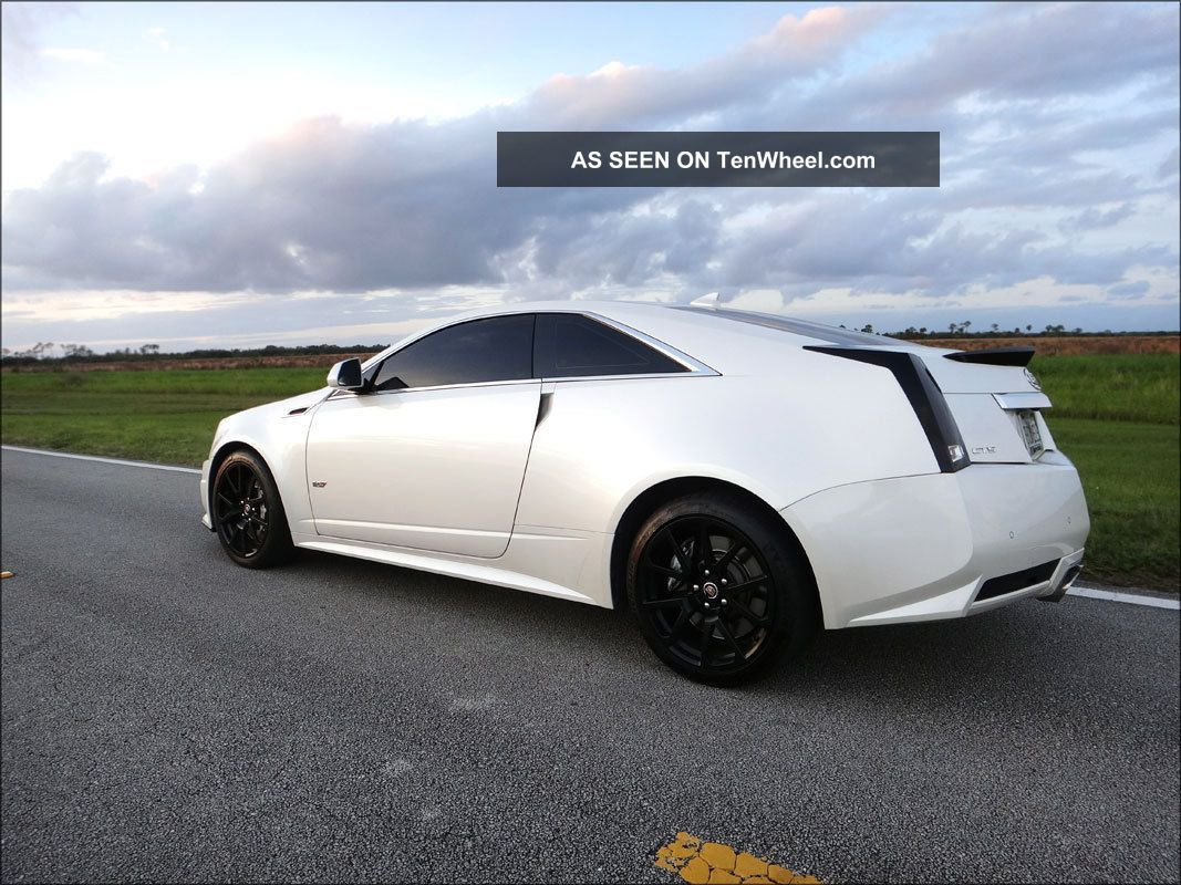 2011 Custom Cadillac Cts V Coupe 680 Horsepower Ctsv CTS photo
