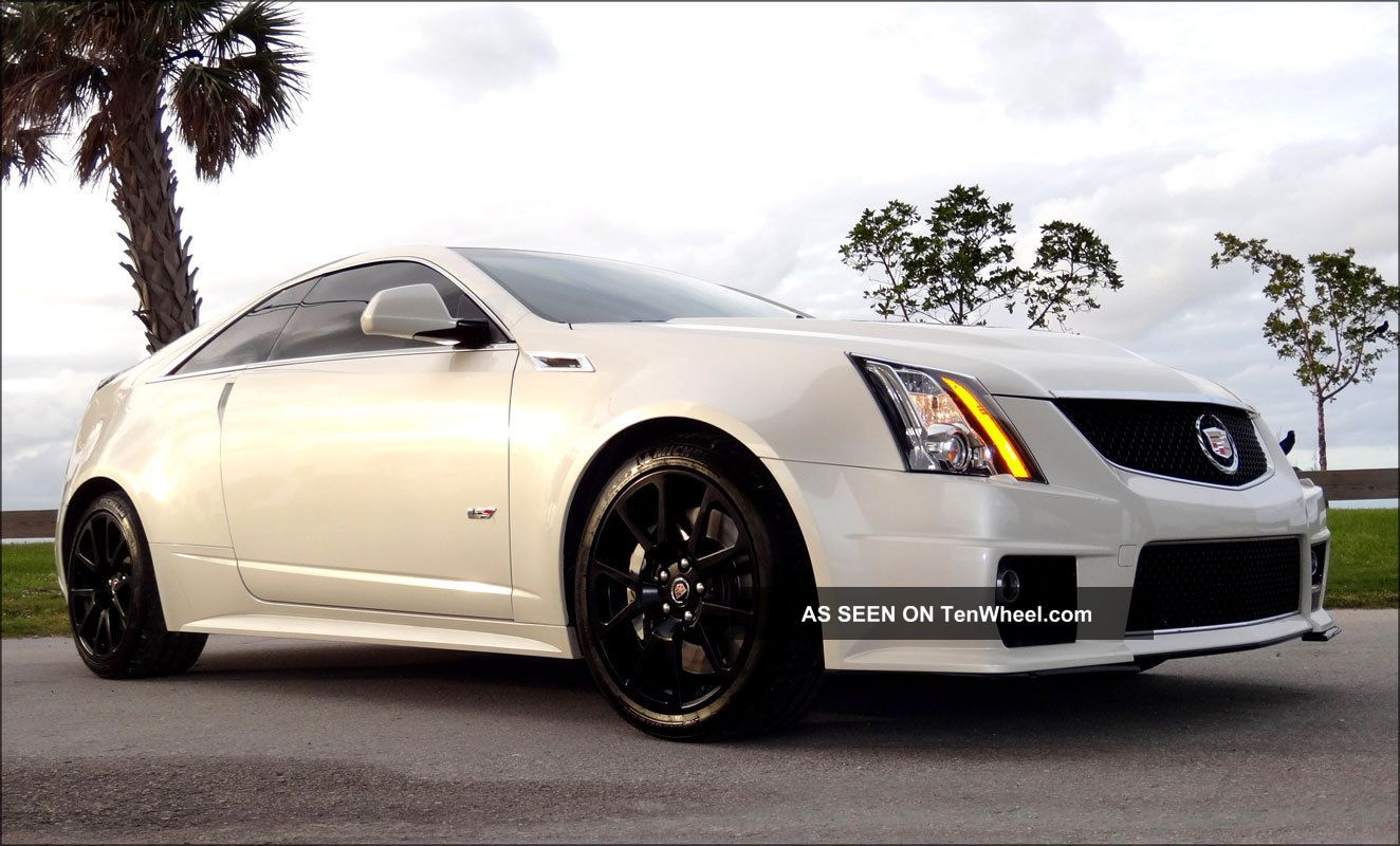 2011 Custom Cadillac Cts V Coupe 680 Horsepower Ctsv CTS photo 3