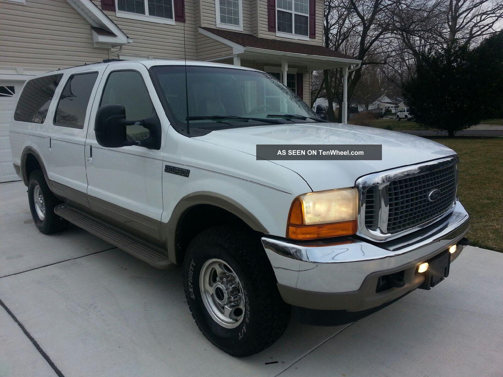 2000 Ford Excursion Limited V10