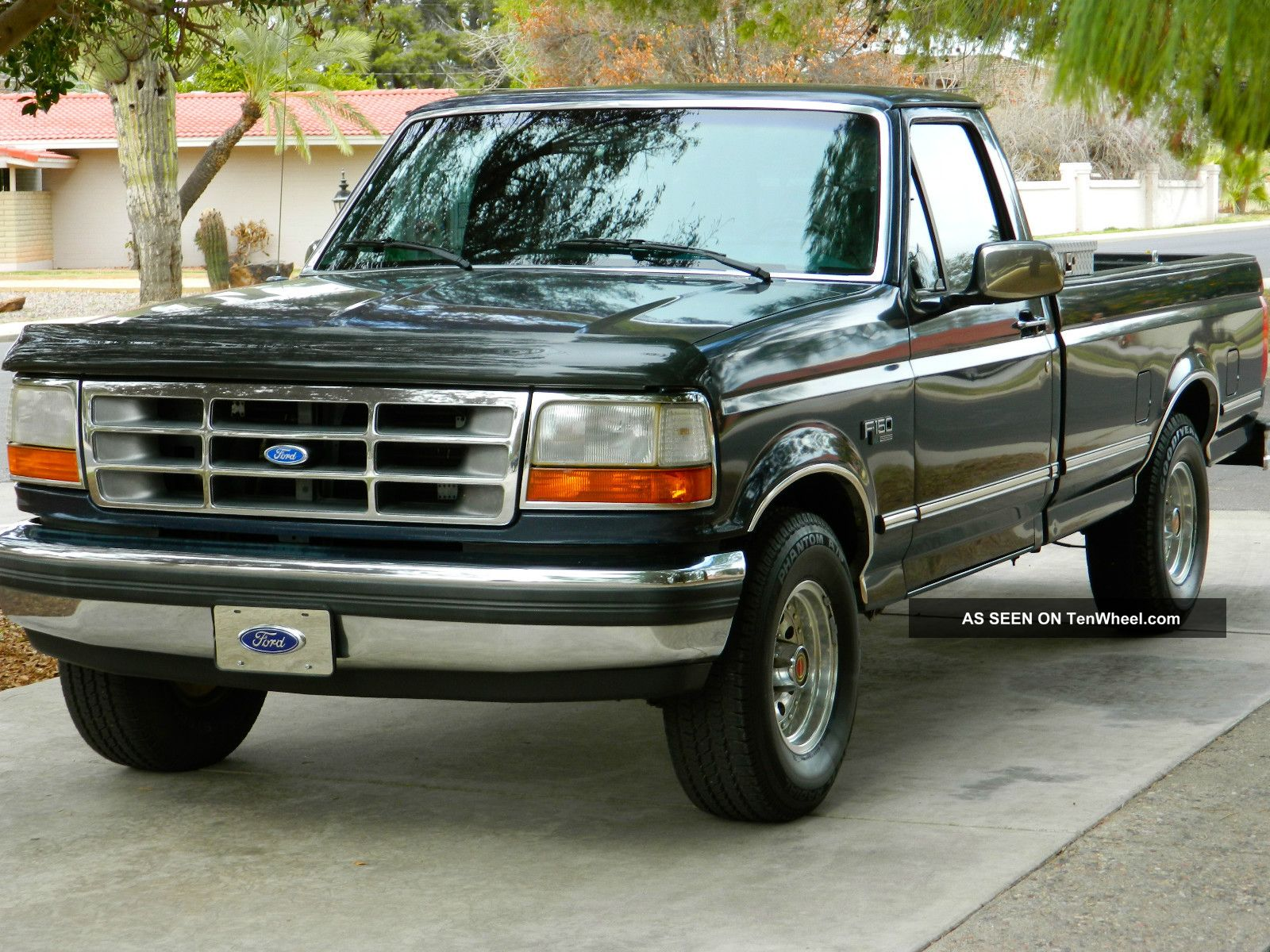 1996 Ford F150 Xl Owners Manual
