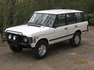 1983 Range Rover Classic Pre - Us Import Rare No Rust Orig Paint Defenfer Rare photo