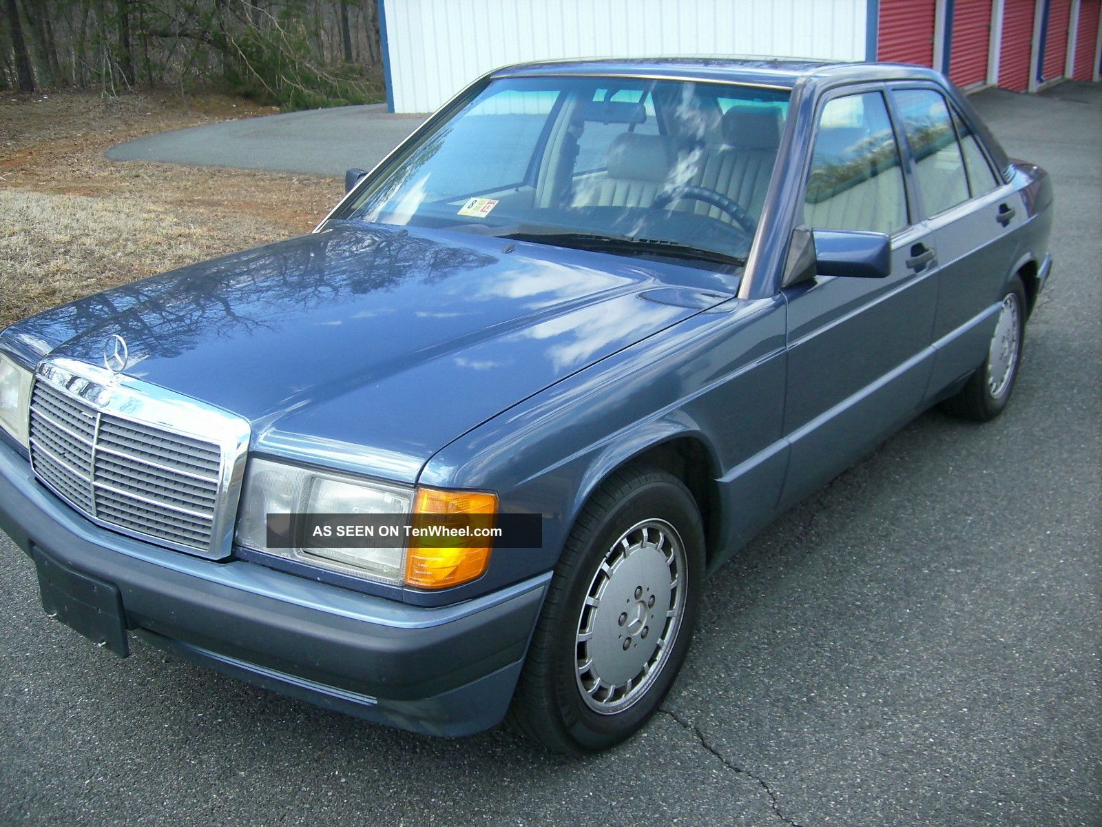 1993 mercedes benz 190e 2 6 sedan 4 door 2 6l