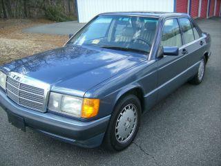 1993 Mercedes - Benz 190e 2.  6 Sedan 4 - Door 2.  6l photo