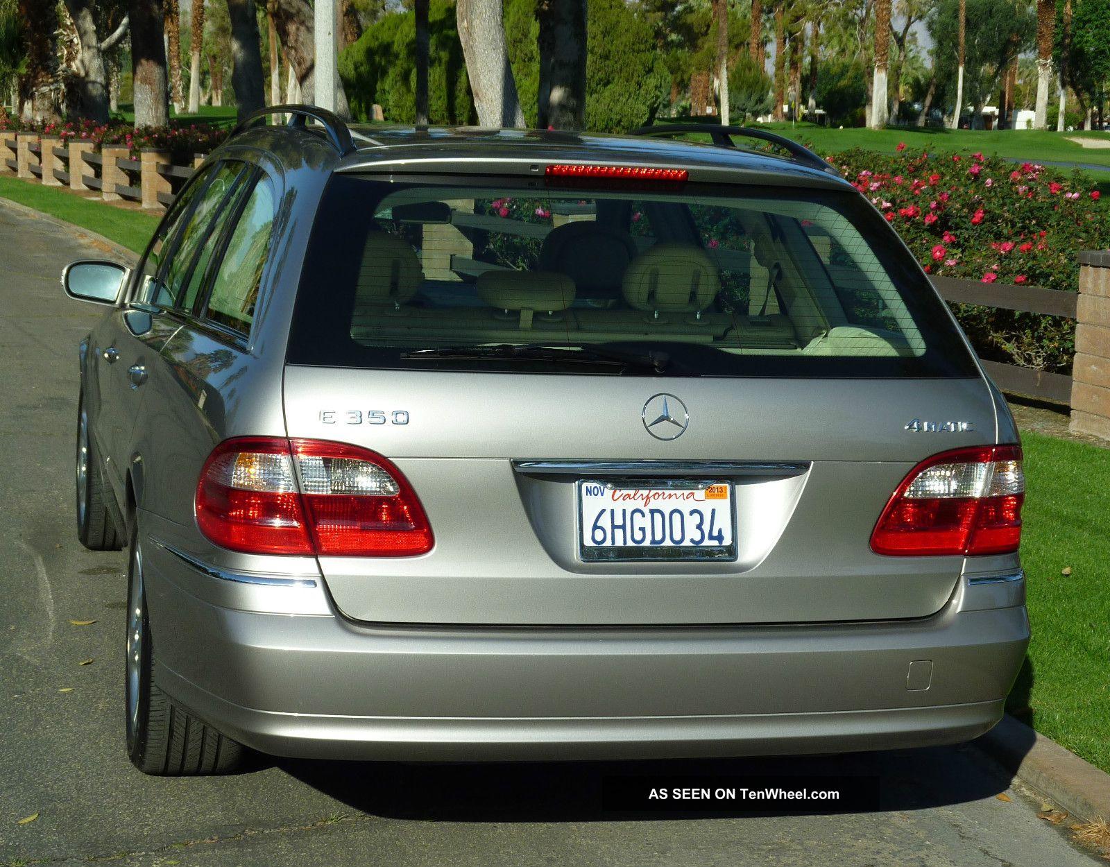 2006 mercedes benz e350 4matic wagon 4 door 3 5l for Mercedes benz e350 wagon