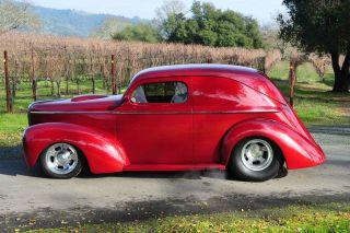 Custom 1941 Willys Wagon All Steel 6.  1l Tpi Hemi 6sp Ac Ps 4wpdb Pw Ford Posi photo