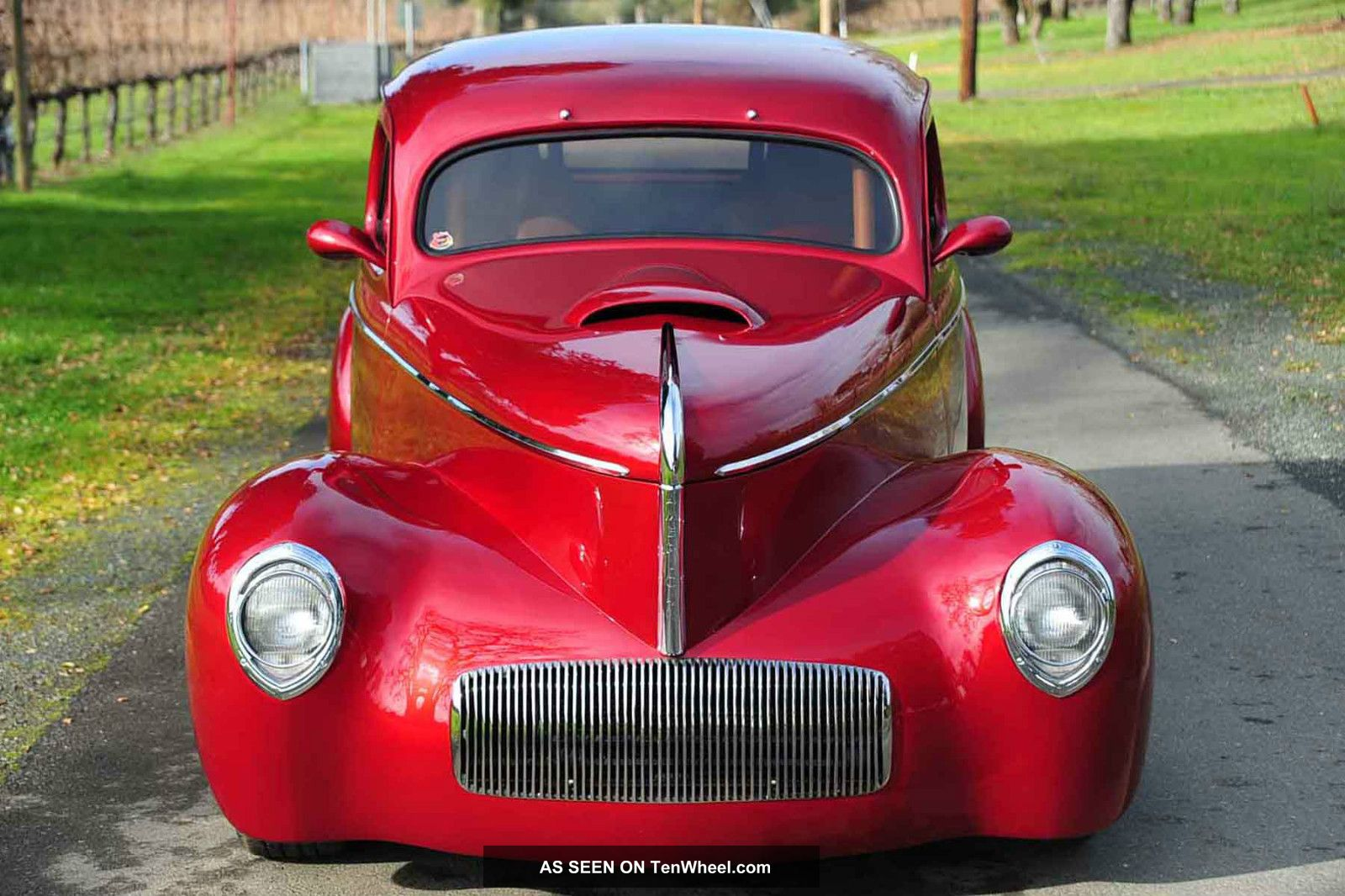 Custom 1941 Willys Wagon All Steel 6 1l Tpi Hemi 6sp Ac Ps 4wpdb Pw Ford Panel Delivery Truck Posi