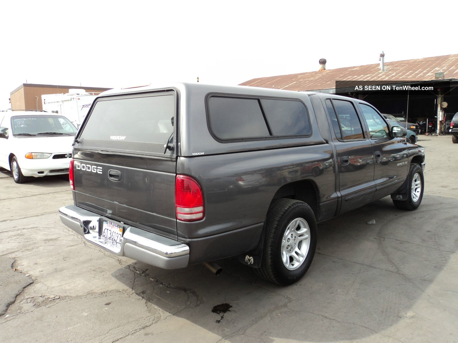 2001 dodge dakota slt crew cab pickup 4 door 3 9l. Black Bedroom Furniture Sets. Home Design Ideas
