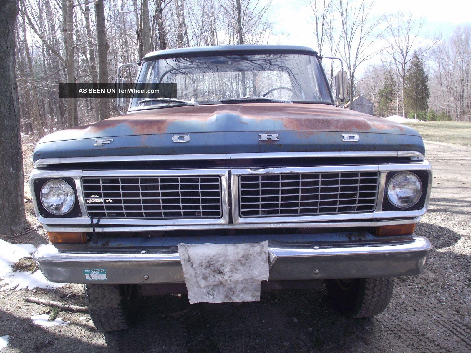 1970 Ford F250 Highboy 4wd F100 Stepside