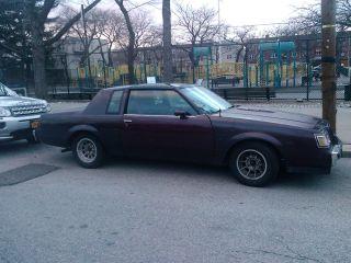 1987 Buick T - Type photo