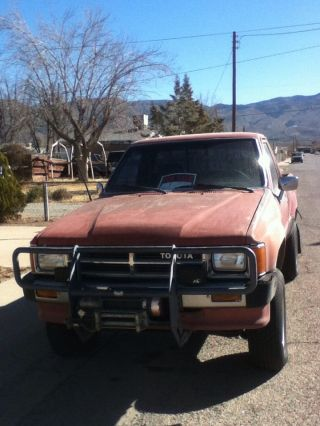 1988 Toyota 4x4 Pick Up Hilux Rock Crawler Pickup photo