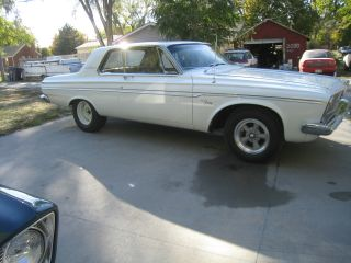 Real - Deal 426 Max - Wedge 1963 Plymouth Fury - Not Another Clone Mopar Dodge photo