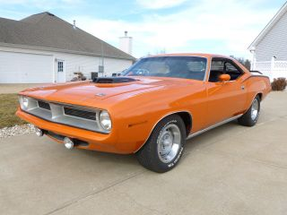 1970 Barracuda Real