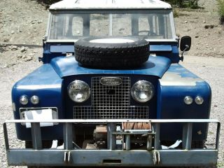 1968 Land Rover Series Iia photo