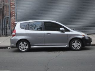 2007 Honda Fit Sport Hatchback 4 - Door 1.  5l (silver With Paddle Shifters) photo