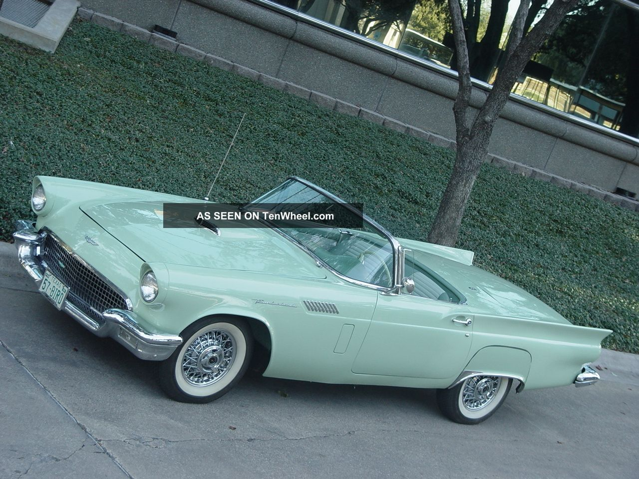 1957 Ford Thunderbird Air Conditioning - Cooling Pkg Ford Fact.  Invoice - Not 1956 Thunderbird photo